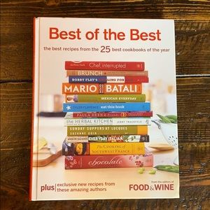 Best of the Best Food and Wine Cookbook